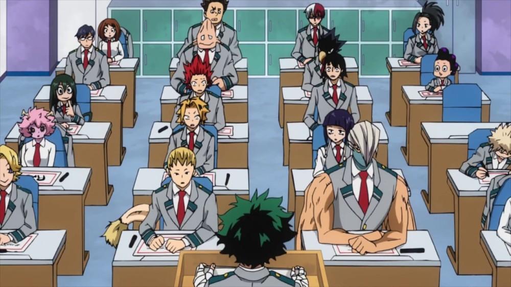 Hero Academia Class