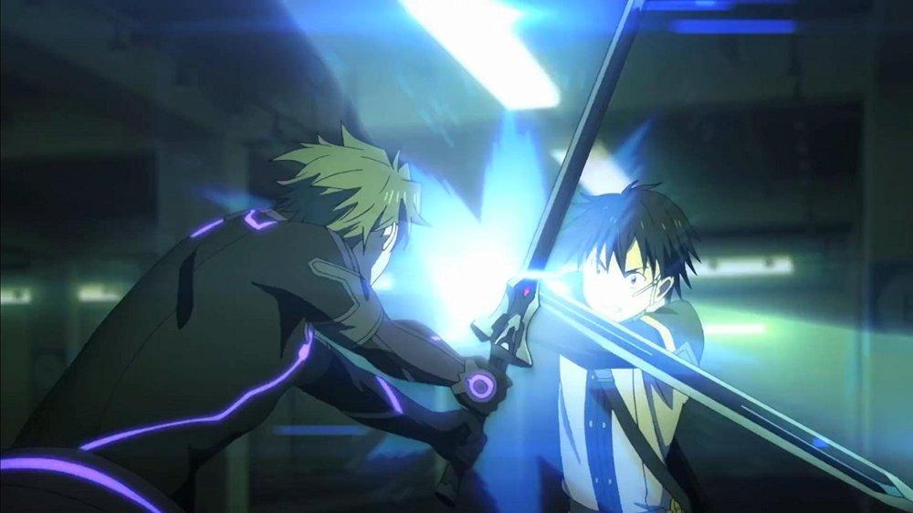 Eiji vs Kirito
